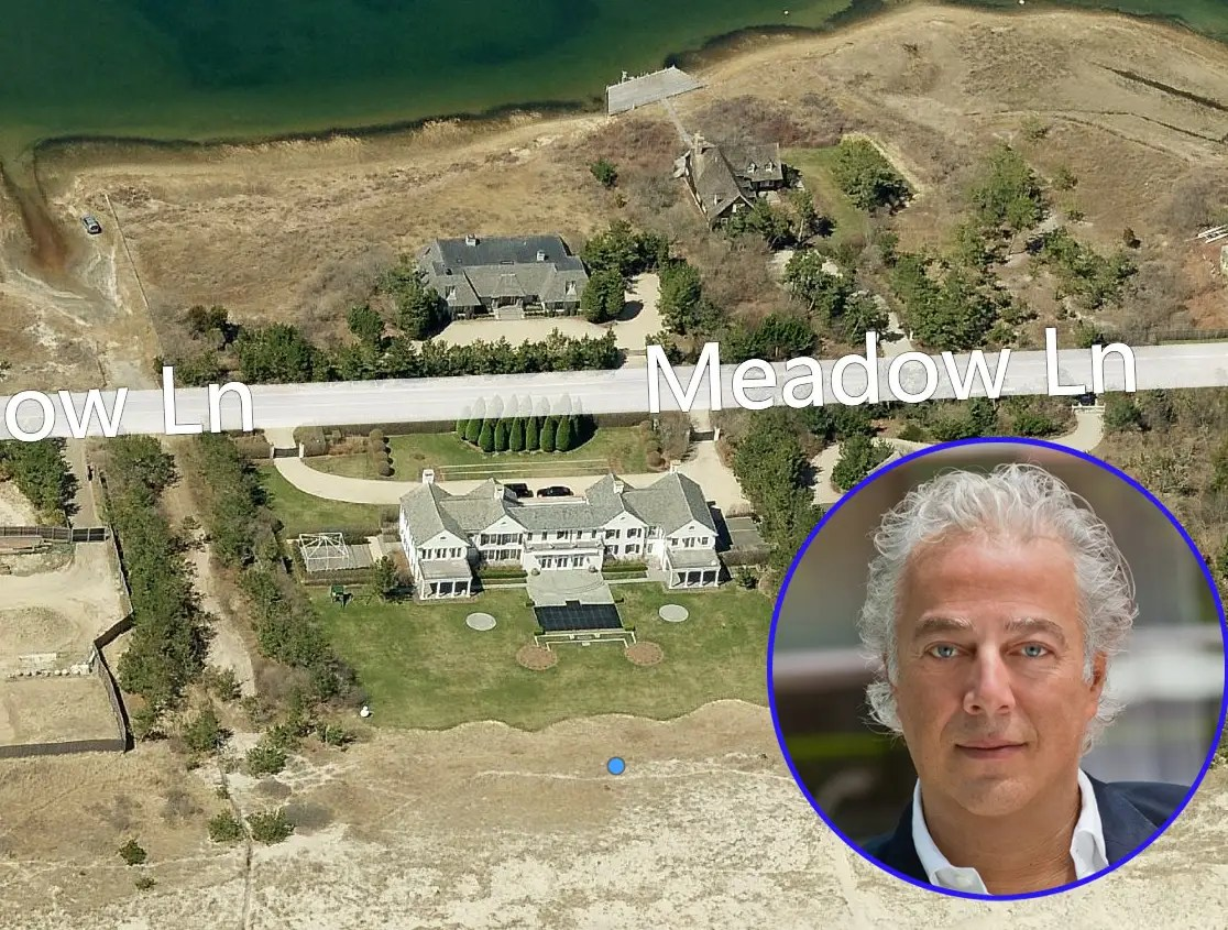 Real estate tycoon Aby Rosen owns this 3.4-acre spread, valued at $21.5 million.
