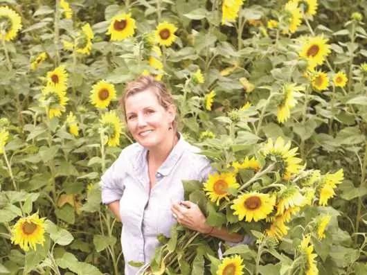 RHODE ISLAND: Brenda Brock, founder, formulator and CEO of Farmaesthetics
