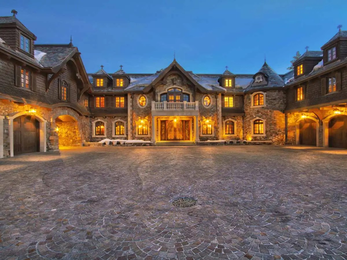 As 210 acres, Tranquility is the largest private estate on the Nevada side of Lake Tahoe.