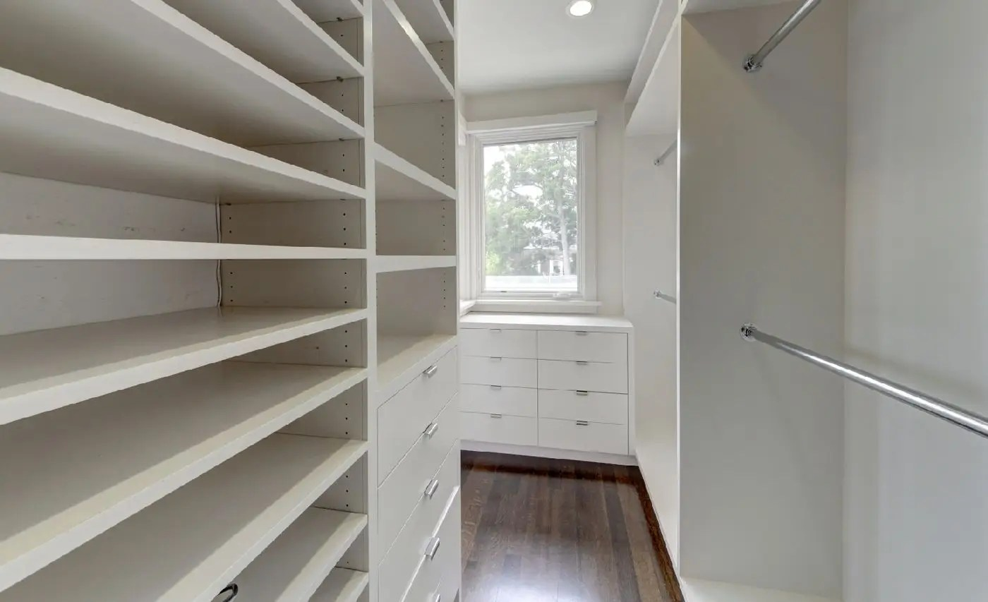 Nice closets!