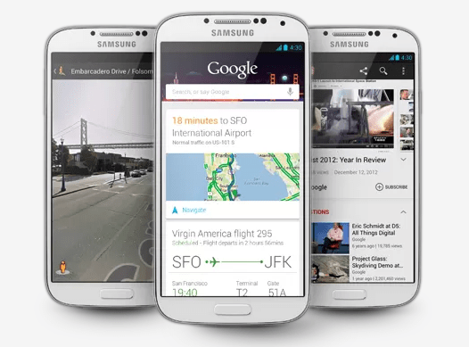 Google Now is like a better Siri.