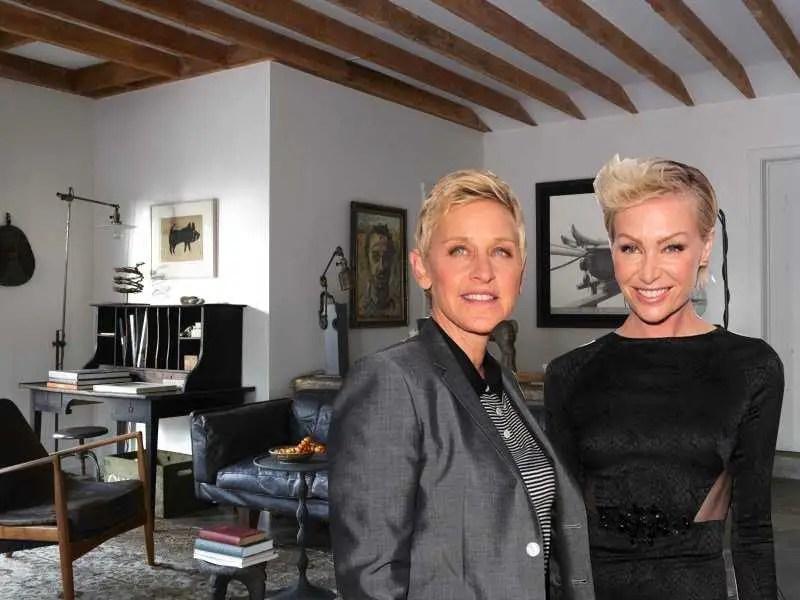 Ellen Degeneres and Portia de Rossi Hidden Valley Farm mansion