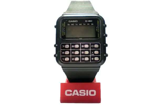 In the age of the smart watch, sometimes we just long for the simpler times of the good, old fashioned Casio C-80 Calculator Watch.