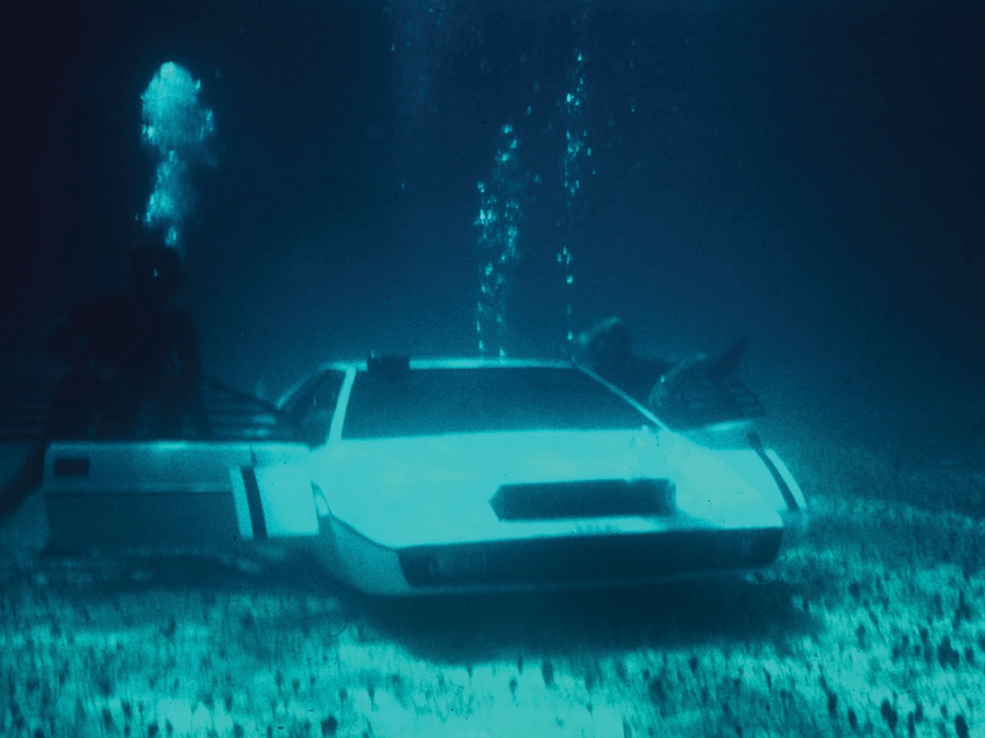 """Though he did recently spend $1 million on the Lotus Esprit from """"The Spy Who Loved Me,"""" which he plans to convert into a functioning submersible vehicle."""