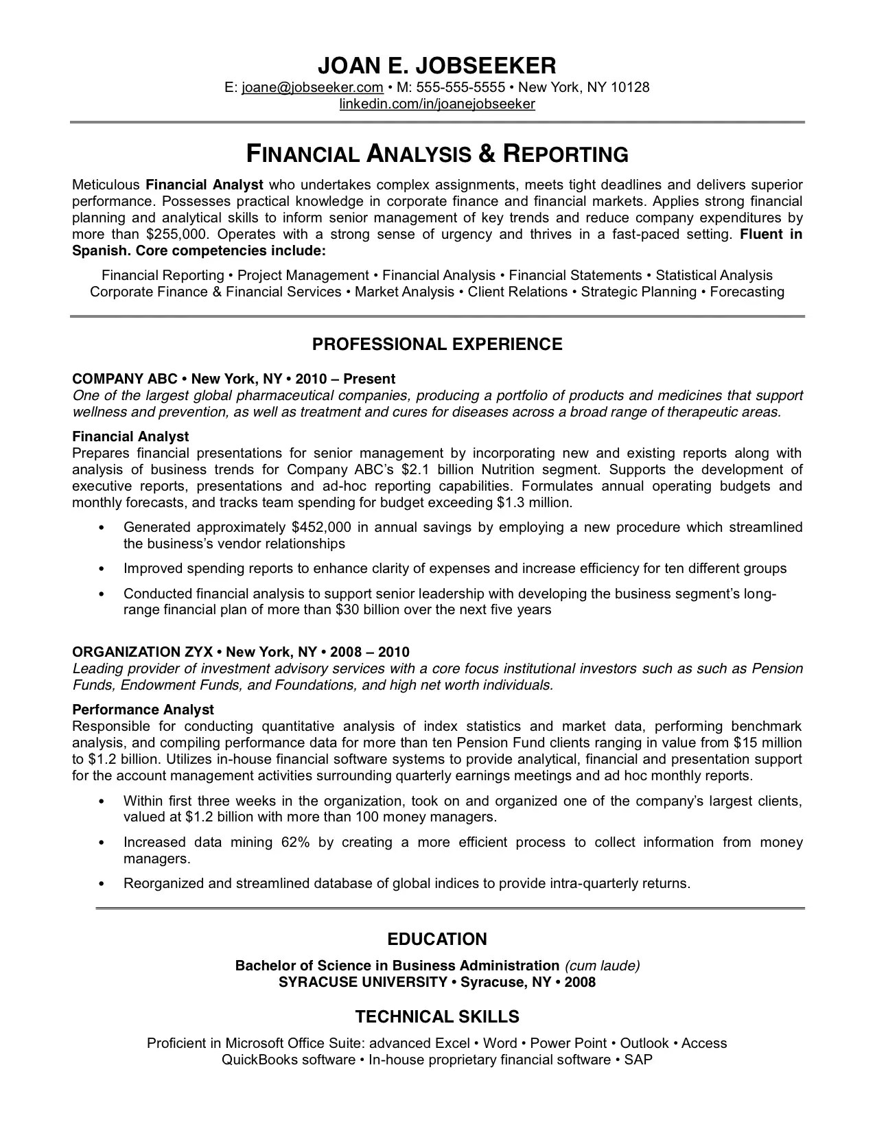excellent resumes and resume samples with free download excellent