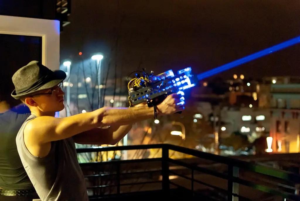 5. Blinding Laser Weapons