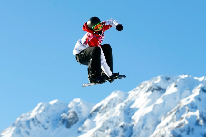 Sometimes, Spiegel and his dad would take a helicopter to Canada to go snowboarding.