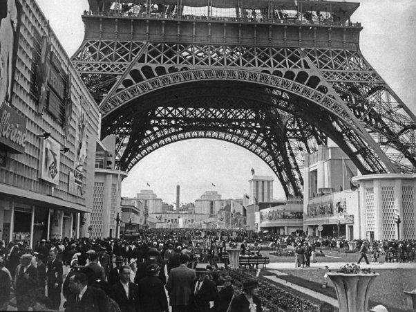 eiffel tower world fair exposition internationale 1889