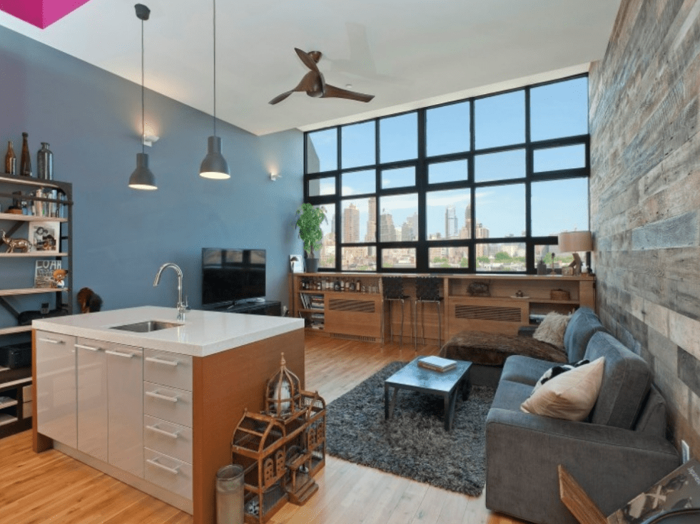 In Brooklyn, New York, $1.1 million can buy an 842-square-foot studio with a home office close to Brooklyn Bridge Park.