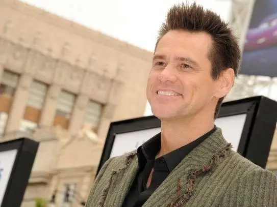 Jim Carrey once lived out of a VW camper van and in a tent on his sister's front lawn.