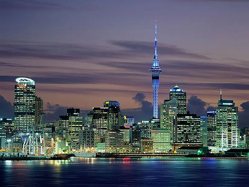 1. Auckland, New Zealand (TIE)