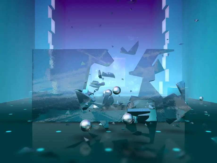 Smash Hit lets you have fun while shattering and breaking beautiful game environments.