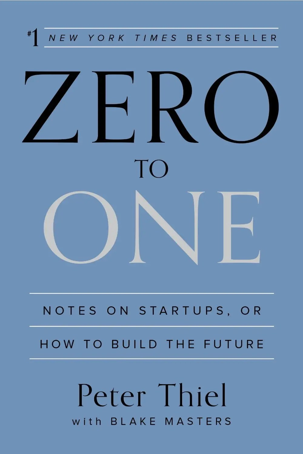 """""""Zero to One"""" by Peter Thiel"""