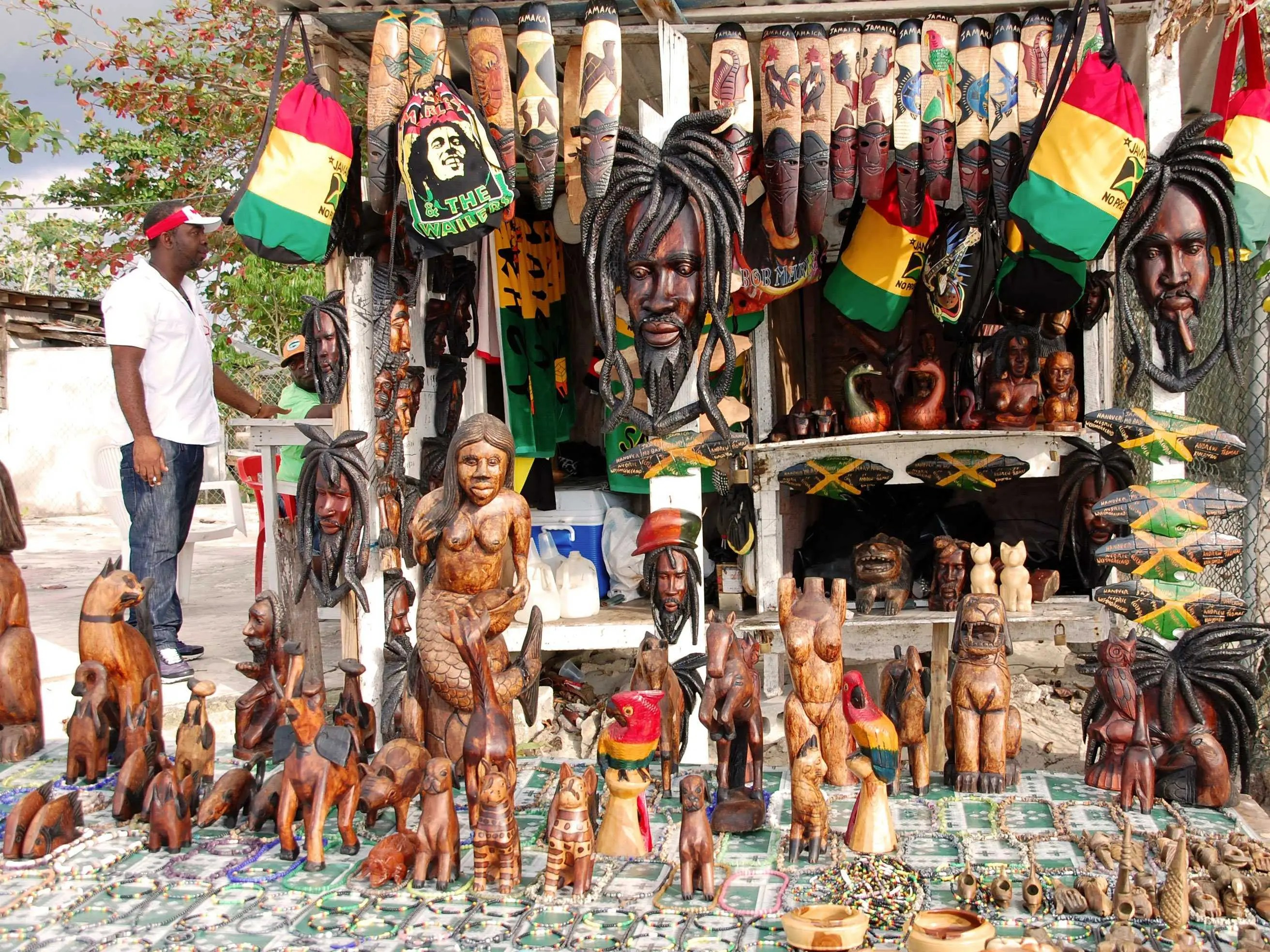jamaica tourist shop