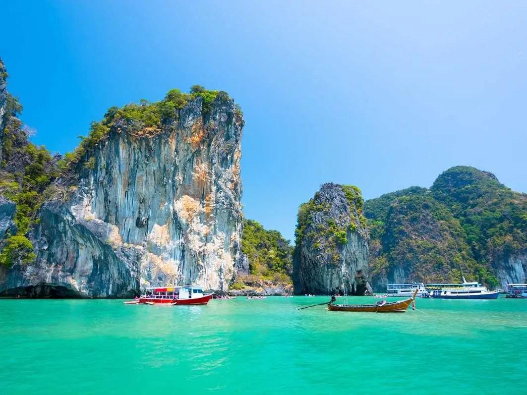 No. 15 Phuket, Thailand: 8 million international visitors