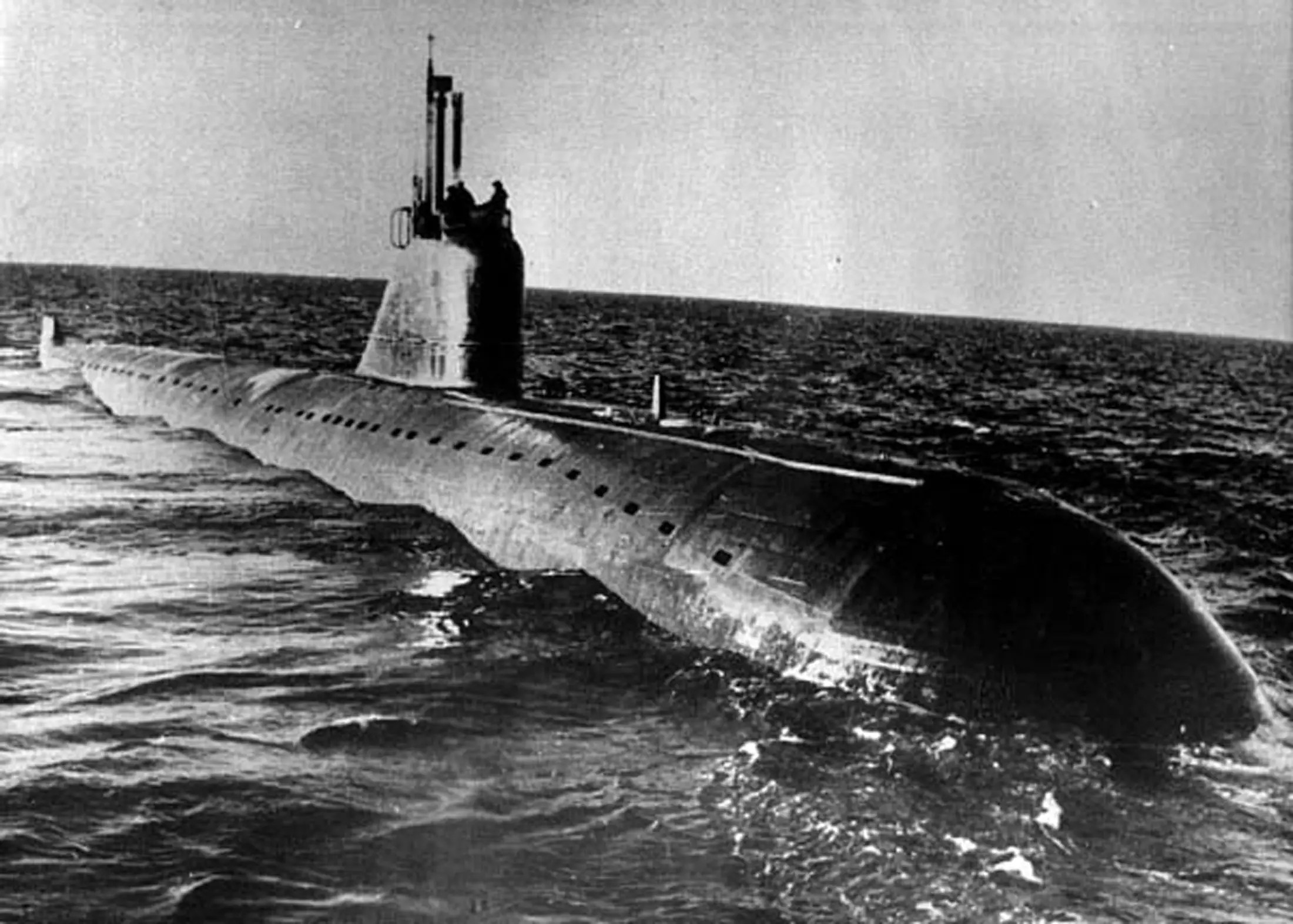 Soviet Submarine K-159