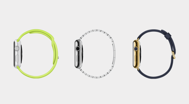 three apple watch models