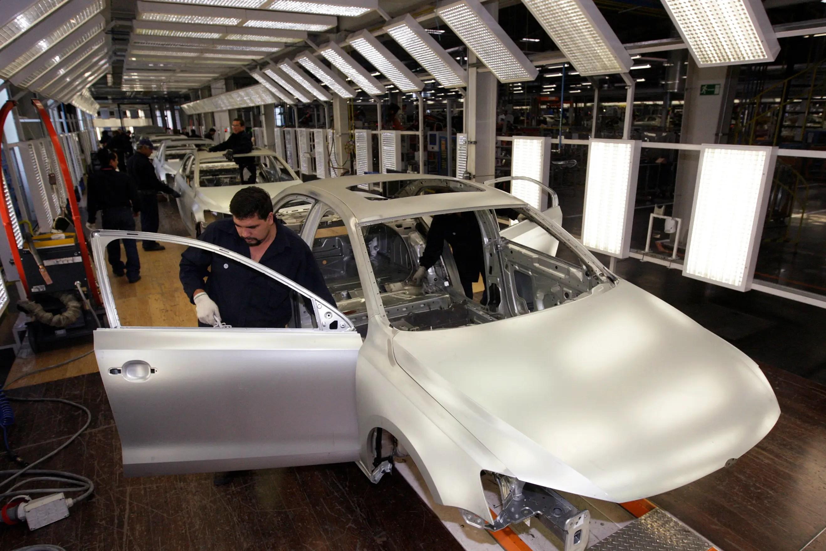 Volkswagen factory Mexico