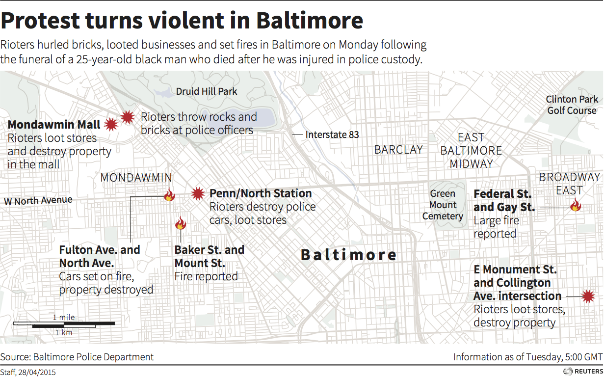 Baltimore map updated