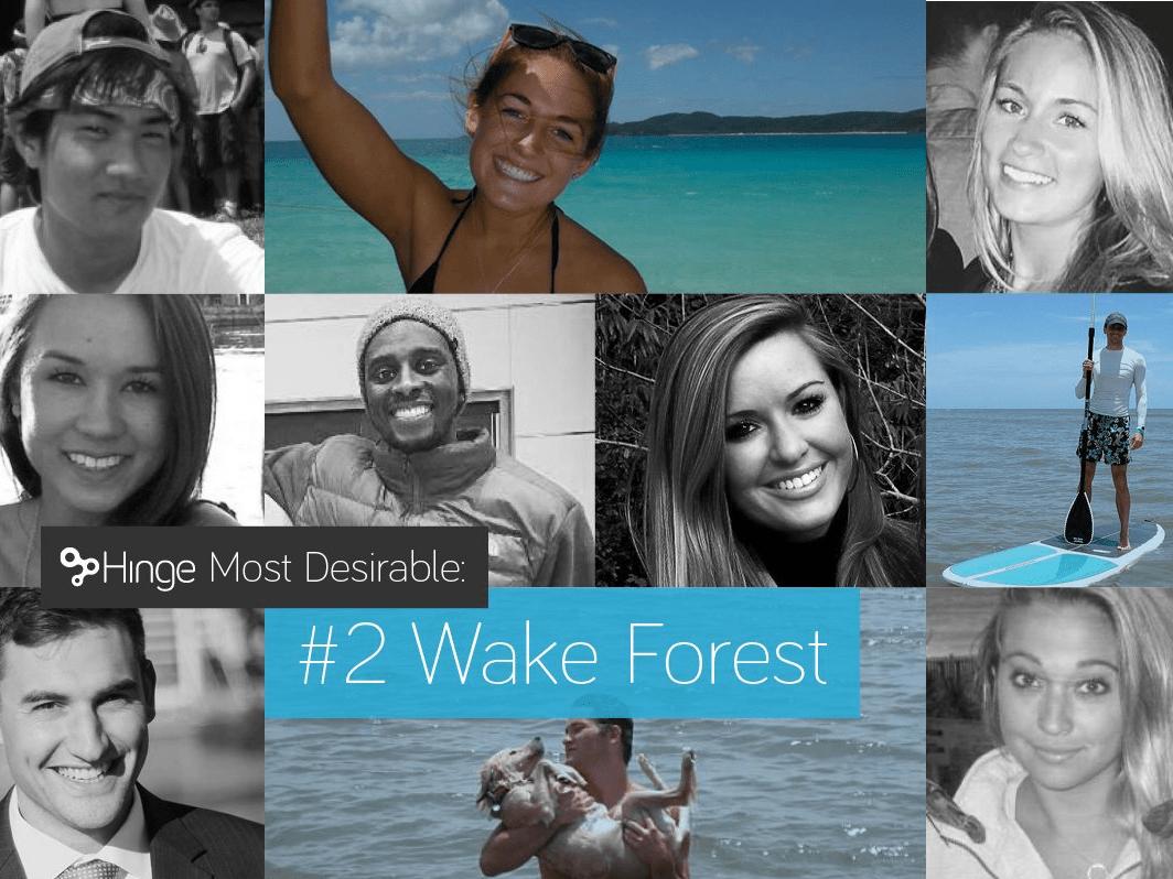 2. Wake Forest University