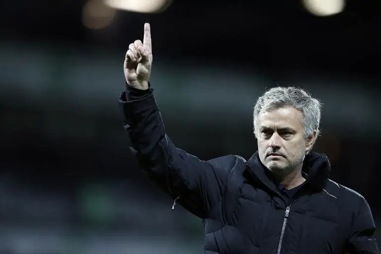 Chelsea's Jose Mourinho was named the English Premier League Manager of the Year on May 21, 2015