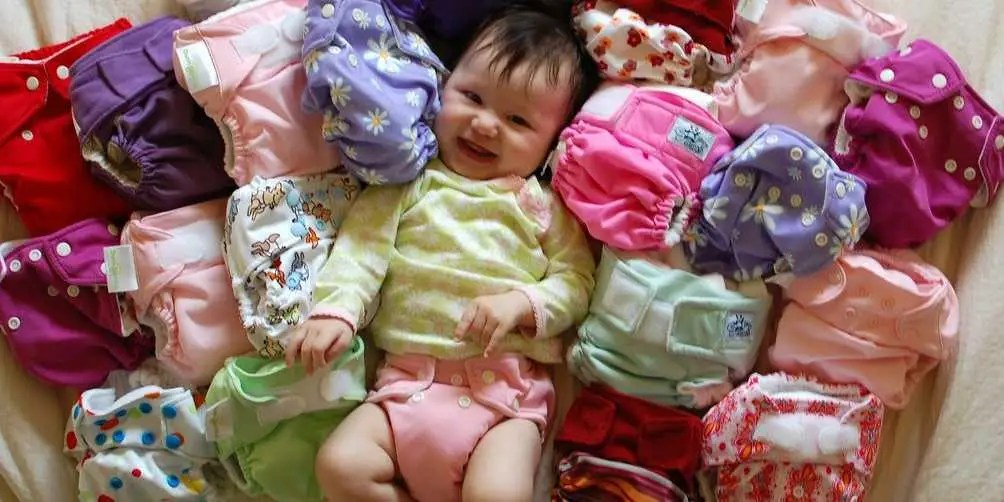 cloth diapers baby