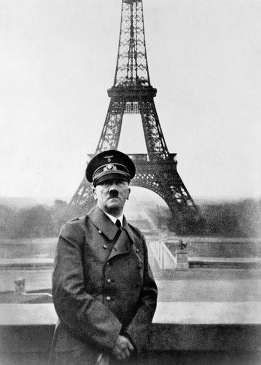 Image result for hitler at the eiffel tower photo