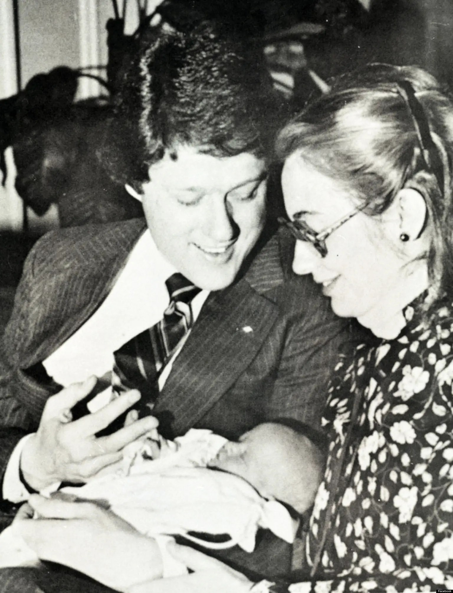 Clinton, who originally declined to take on her husband's last name, had ambitions of her own. In a new state, she taught college law, became the first woman to make partner at her firm, and gave birth to a girl, named Chelsea.