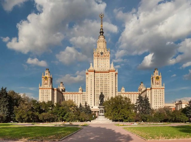 48. Lomonosov Moscow State University — Based in the Russian capital, the Lomonosov Moscow State University achieved a QS score of 74.7.