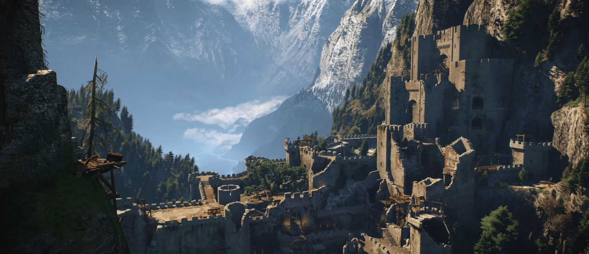 """To progress through the game, you'll need to explore the massive open world, exploring areas and meeting people as you go. """"The Witcher 3"""" claims one of the biggest open worlds ever created for a role-playing game — and the vistas are spectacular. Take a look for yourself ..."""