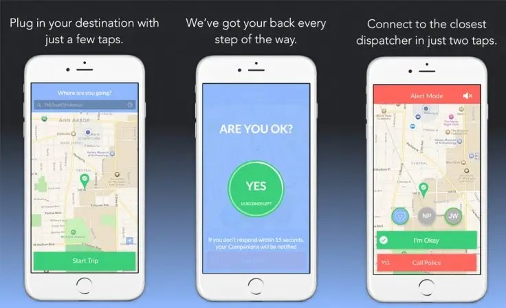 companion personal safety mobile app
