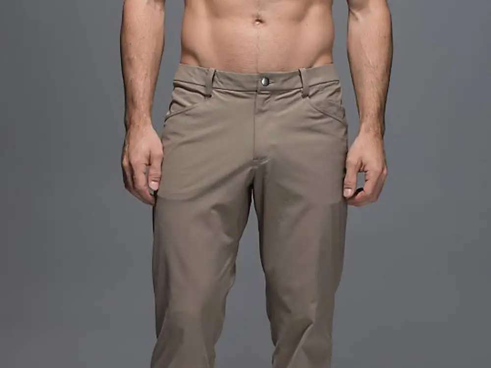 """In 2015, amid surging sales, Lululemon introduced these """"anti-ball-crushing pants"""" for men."""