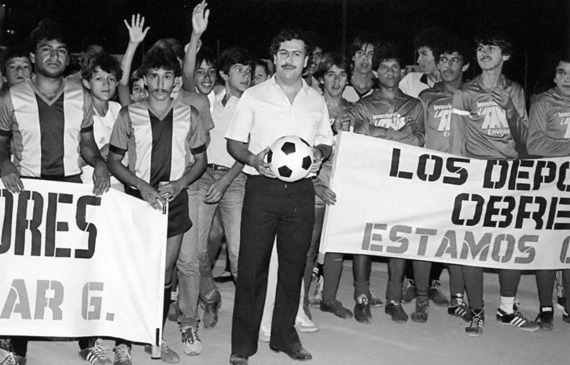 Pablo Escobar soccer charity