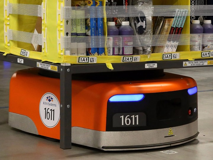 Image result for robots working at amazon