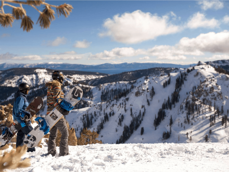 14. Squaw Valley was the host of the 1960 Winter Olympics, and in 2012, it became the second-largest ski area in Lake Tahoe after merging with Alpine Meadows. Together, the resorts offer more than 6,000 acres of terrain, including 16 bowls and 270 trails.