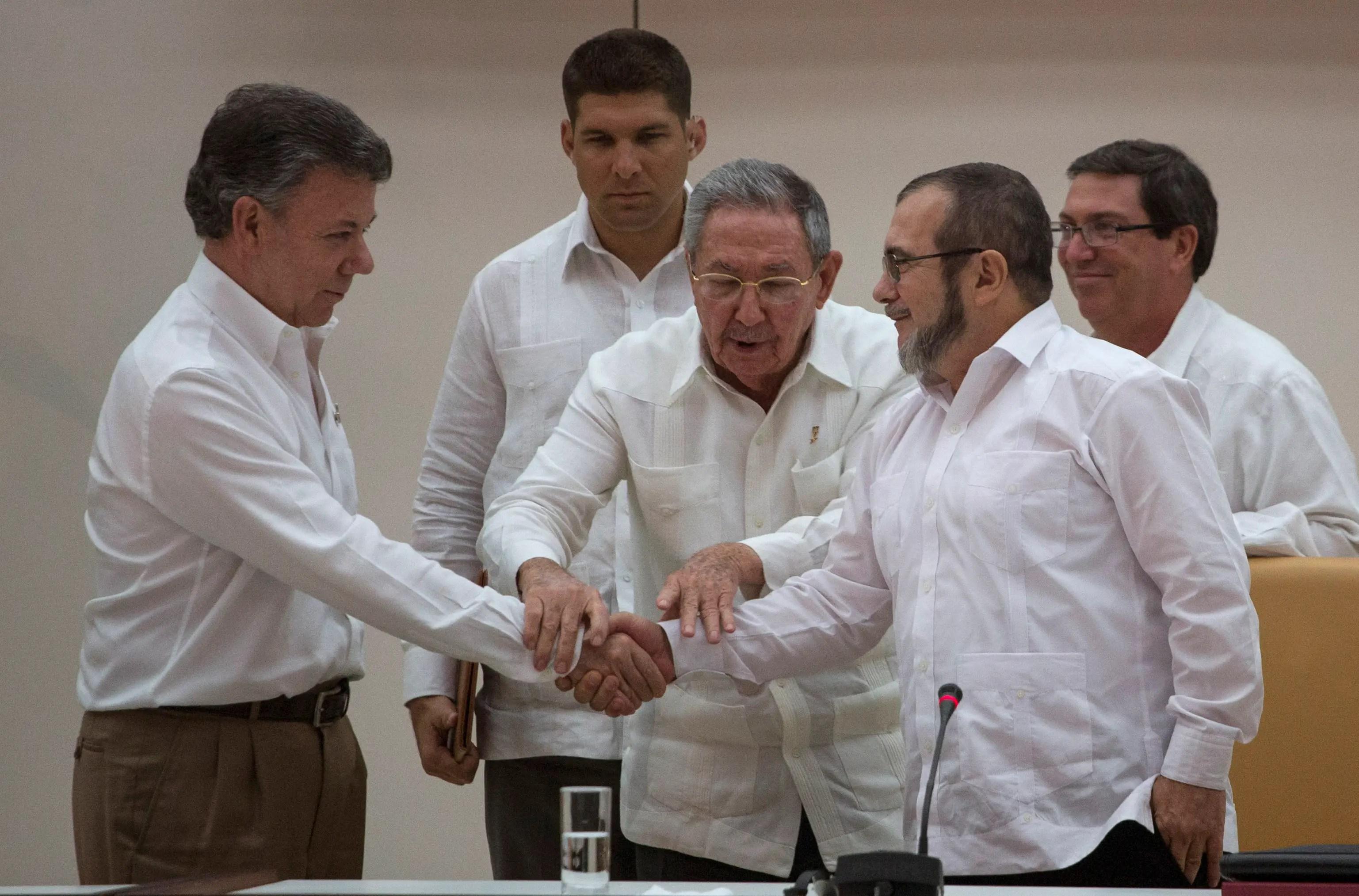 Cuba Colombia Farc peace deal