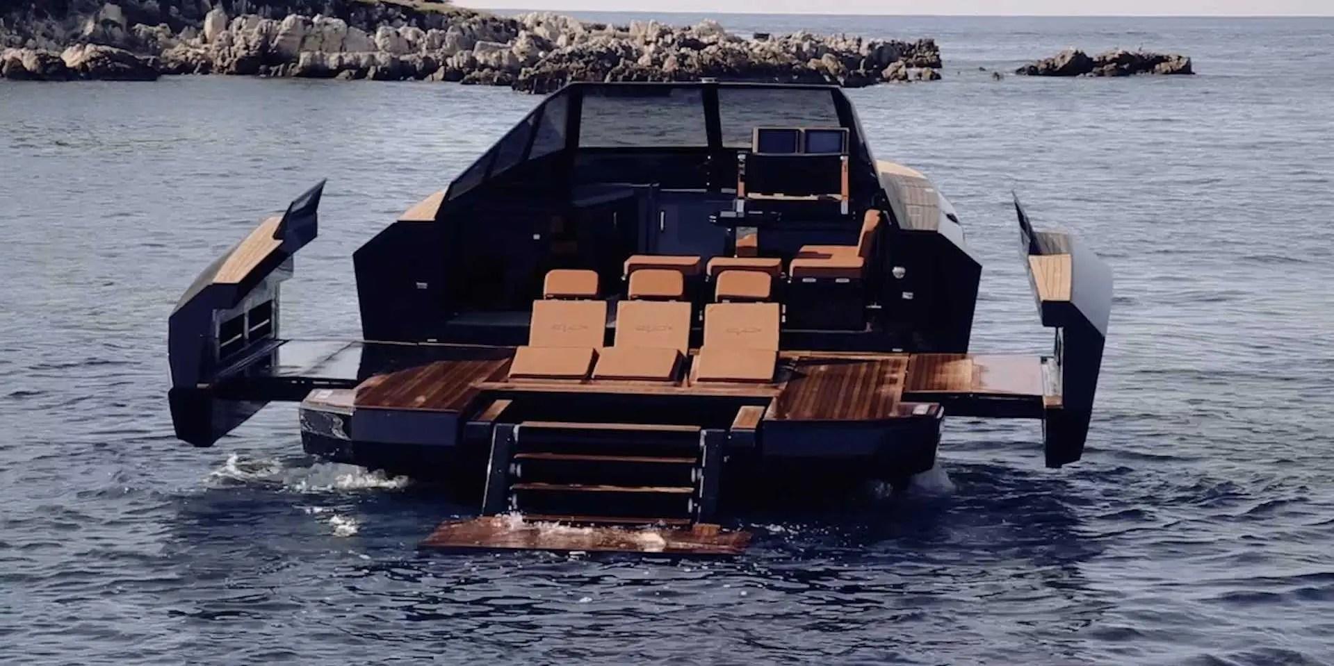 The 750000 Italian Shape Shifting Speedboat Business Insider