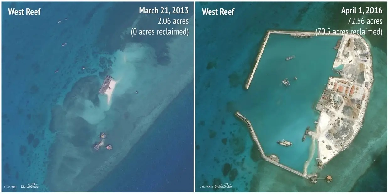West Reef: 2013 - 2016