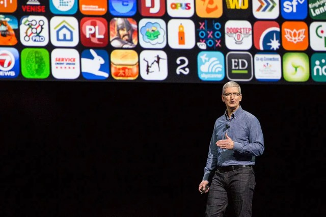 tim cook apple apps