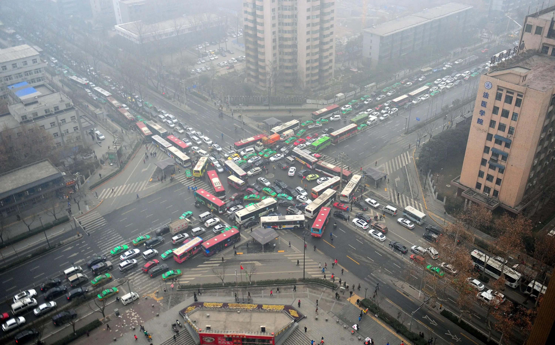 chinese-gridlock-smog