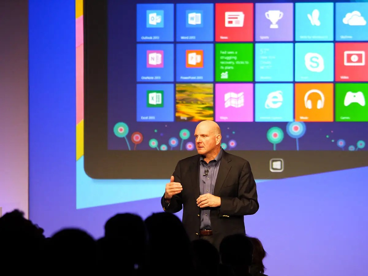 windows 8 launch steve ballmer