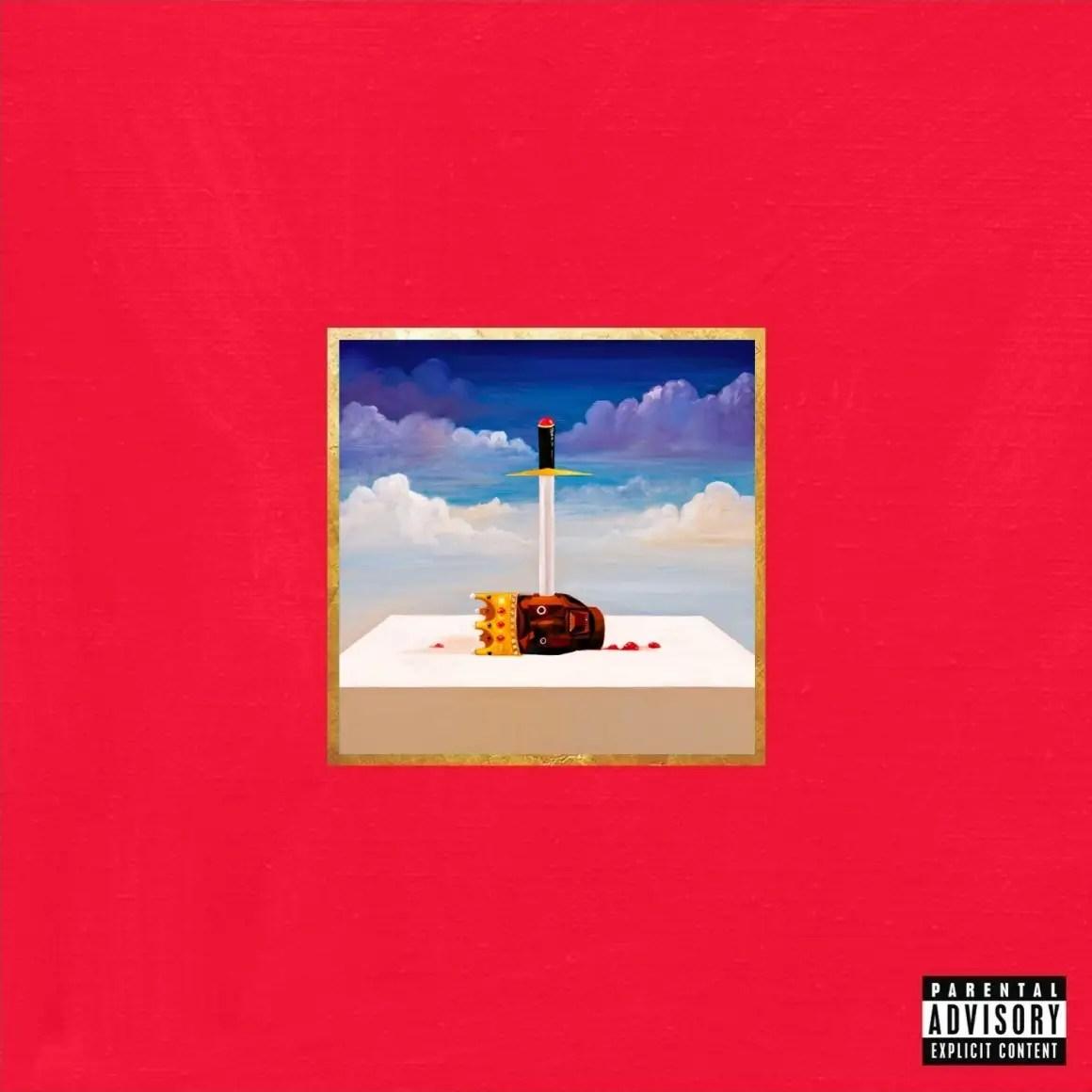 "2010: ""My Beautiful Dark Twisted Fantasy"" —Kanye West"