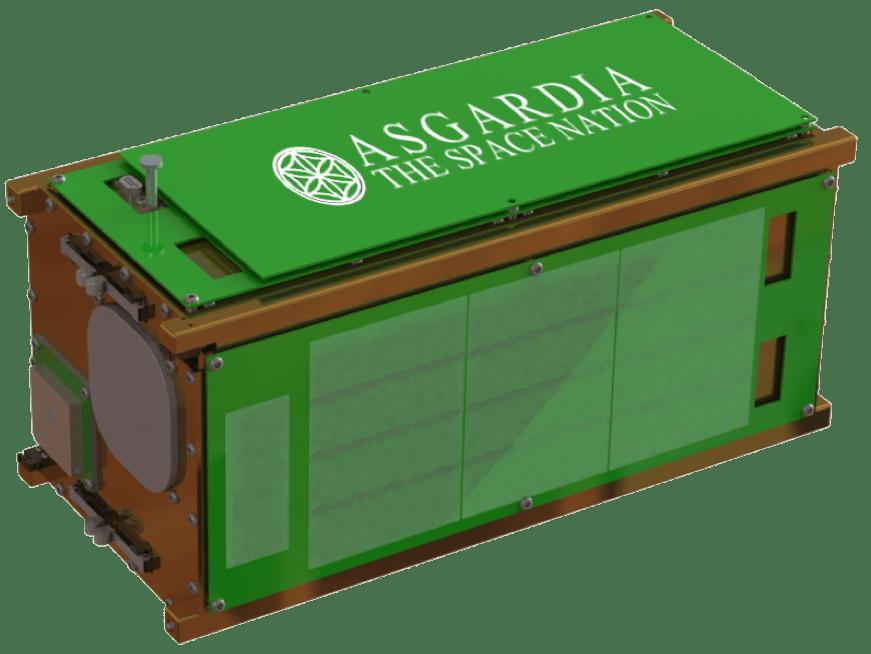 asgardia space nation first satellite nanoracks