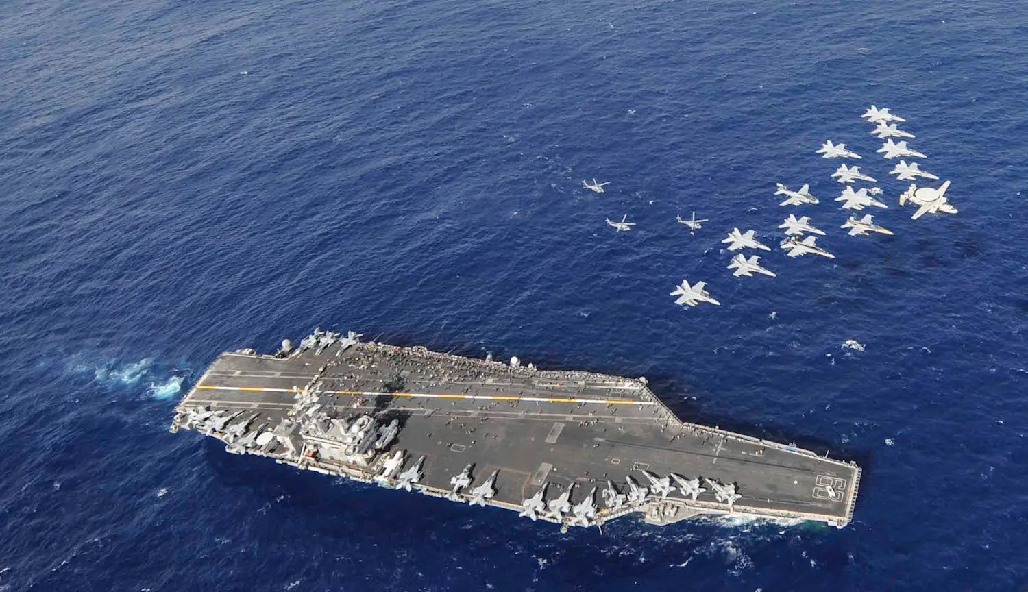 The USS Nimitz, the lead ship in the Nimitz class, visited Sri Lanka in October — the first time a US aircraft carrier had visited the dock Colombo over 30 years.