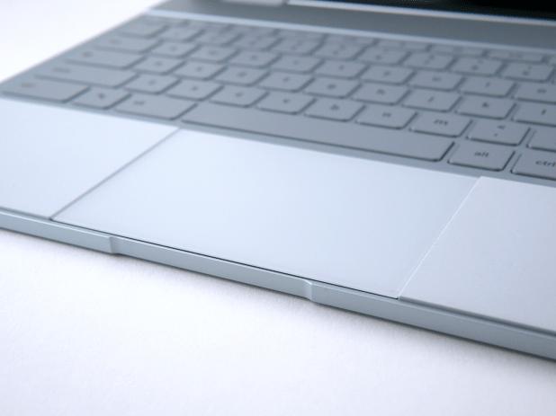 The trackpad beats most Windows 10 laptops.