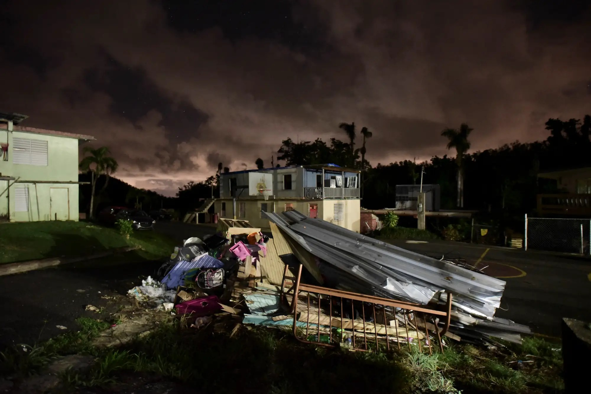 Puerto Rico burning the dead after Hurricane Maria