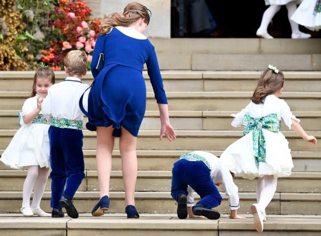 princess charlotte princess eugenia wedding
