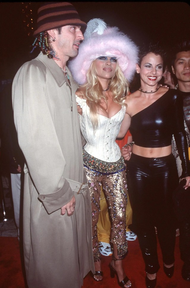 Pamela Anderson and Tommy Lee VMA