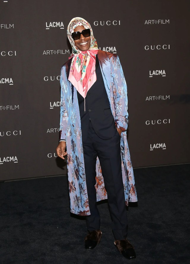 NOVEMBER 03: ASAP Rocky attends the 2018 LACMA Art + Film Gala at LACMA on November 03, 2018 in Los Angeles, California. (Photo by Jesse Grant/Getty Images)