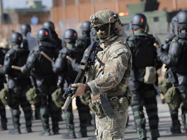 Border Patrol tactical units agents